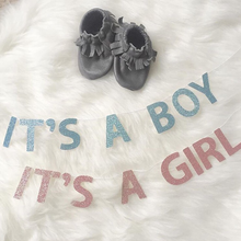 It's a Boy/Girl Bassinet Banners - Glambanners
