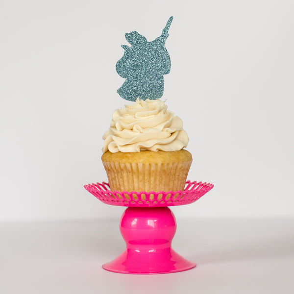Fairy Godmother Cupcake Toppers - Glambanners - 1