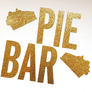 THANKSGIVING:  Pie Bar Banner