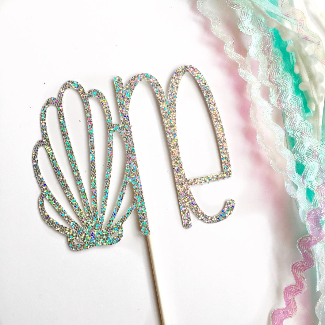 One Shell Cake Topper
