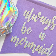 Always Be a Mermaid Feltie + Purse - Glambanners - 2