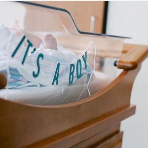 It's a Boy/Girl Bassinet Banners