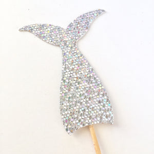 Mermaid Tail Cupcake Toppers - Glambanners - 1