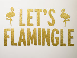 Let's Flamingle Banner - Glambanners - 1