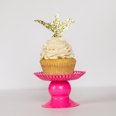 Magic Lamp Cupcake Toppers - Glambanners - 1