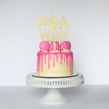 Make a Wish Cake Topper - Glambanners - 1