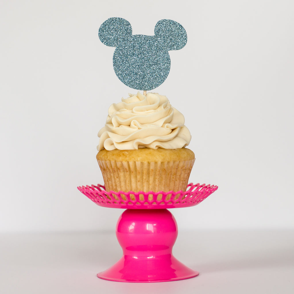 Mickey Mouse Cupcake Toppers - Glambanners - 1