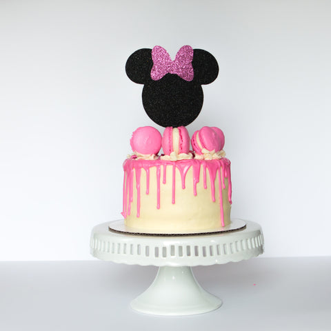 Minnie Mouse Cake Topper - Glambanners - 1