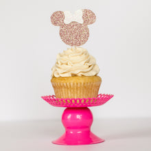Minnie Mouse Cupcake Toppers - Glambanners - 1