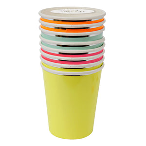 SALE!  Neon Party Cups - Glambanners
