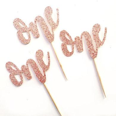 One Cupcake Toppers