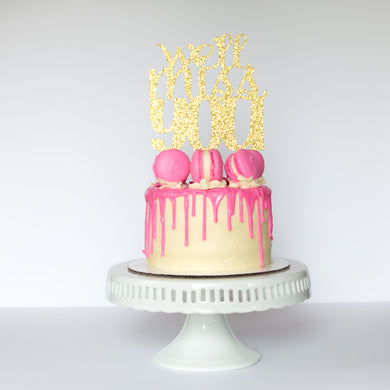 We'll Miss You Cake Topper - Glambanners - 1