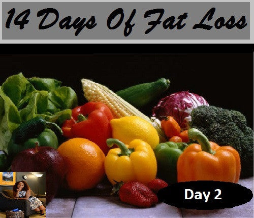 Food Groups: Day 2 of 14 Days Of Fat Loss