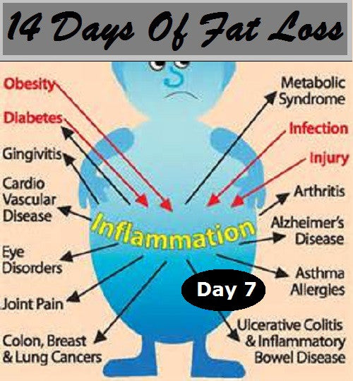 How Inflammation Blocks Fat Loss: Day 7 Of 14 Days Of Fat Loss