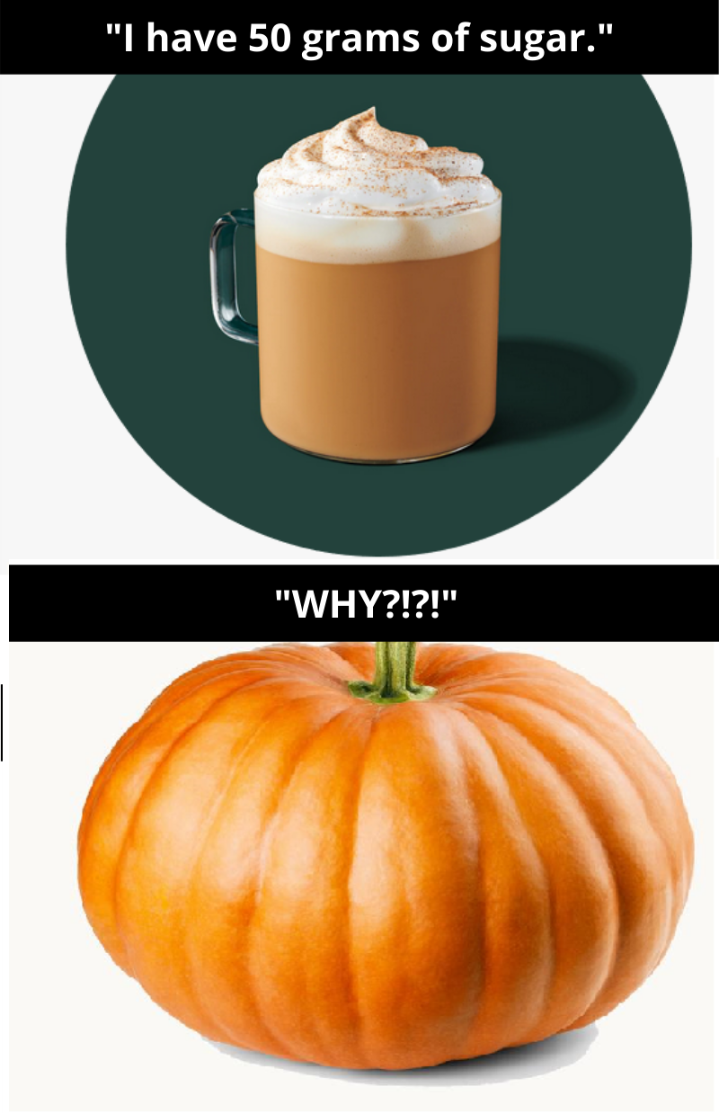 Pumpkin Latte and Pumpkin