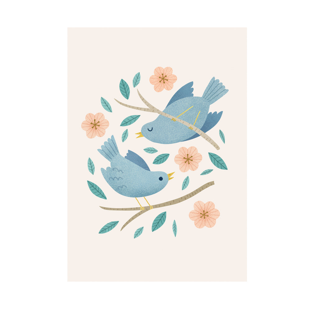 Load image into Gallery viewer, Birds & Blossom Print