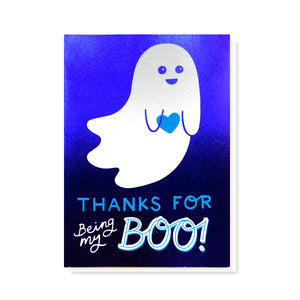 Load image into Gallery viewer, SAMPLE Boo Card - Blue