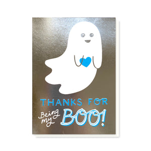 Load image into Gallery viewer, SAMPLE Boo Card - Silver