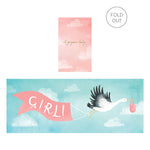 Gorgeous Baby Girl Concertina Card