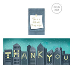 Big Thank You Concertina Card