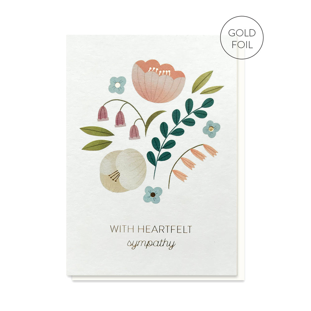 Load image into Gallery viewer, Heartfelt Sympathy Card