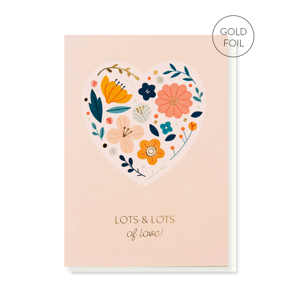 Load image into Gallery viewer, Love Heart Card