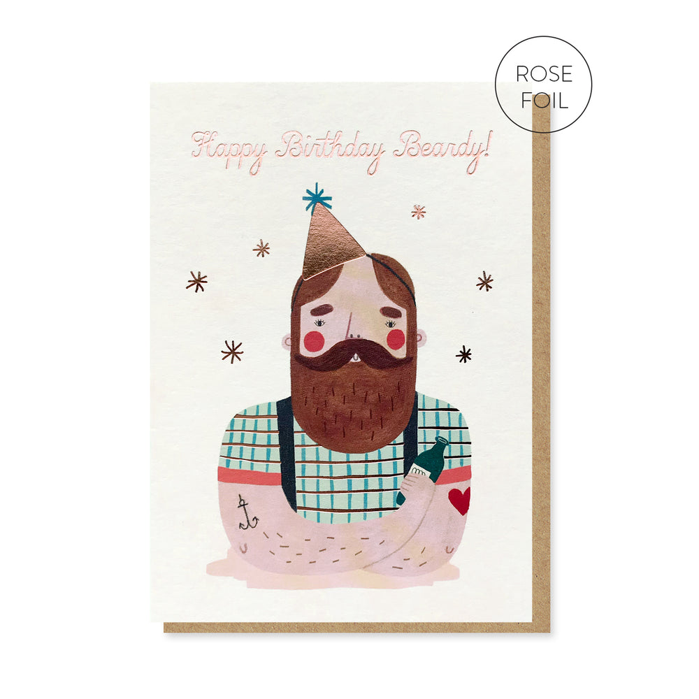 Birthday Beardy Card