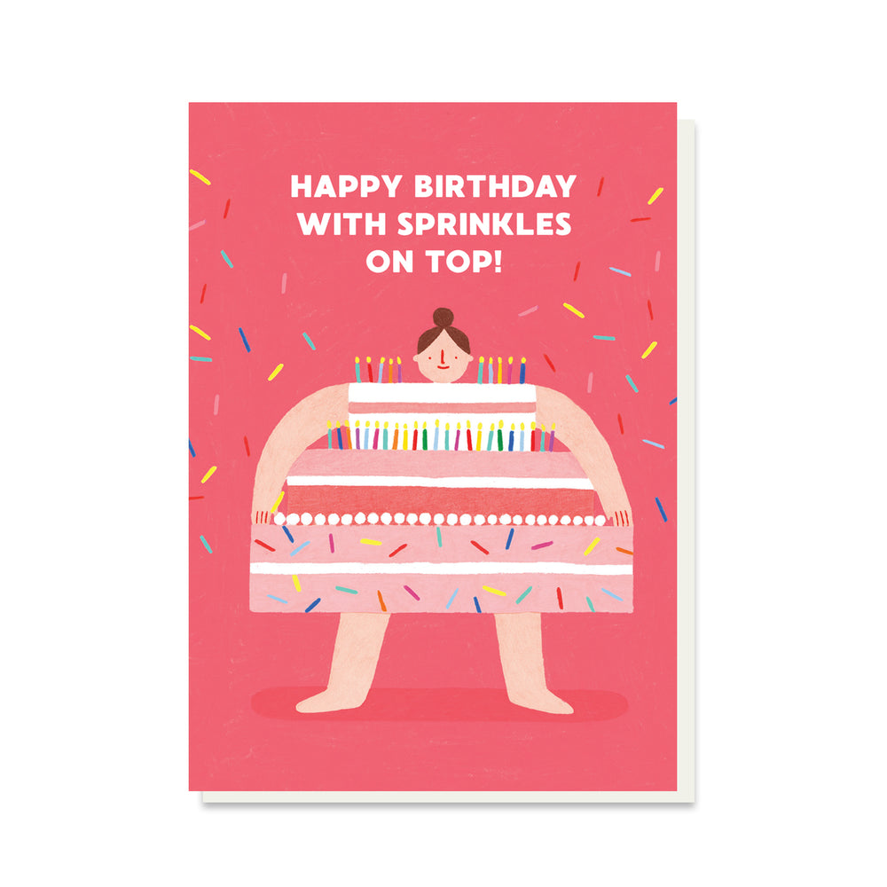 Sprinkles Birthday Card
