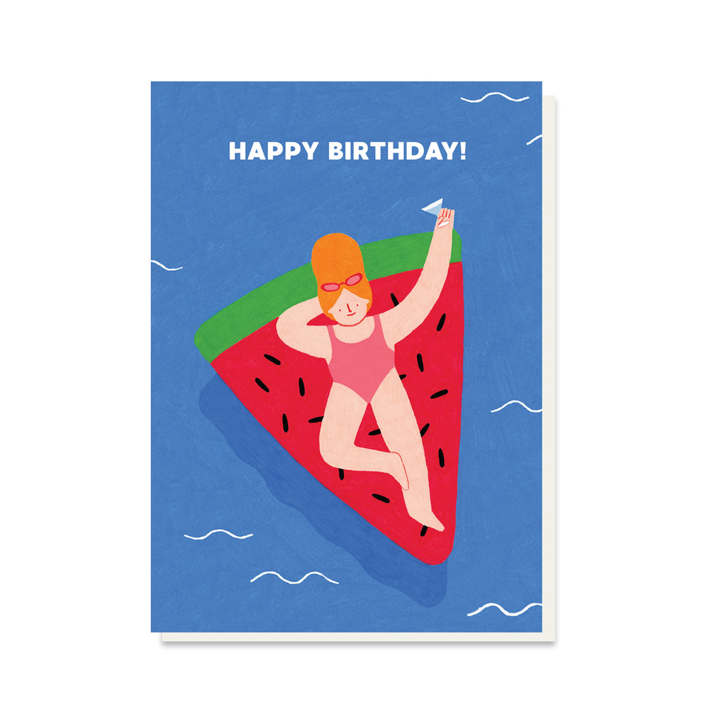 Load image into Gallery viewer, PB PRESSIES Melon Birthday Card