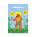 PB PRESSIES Mother Nature Birthday Card
