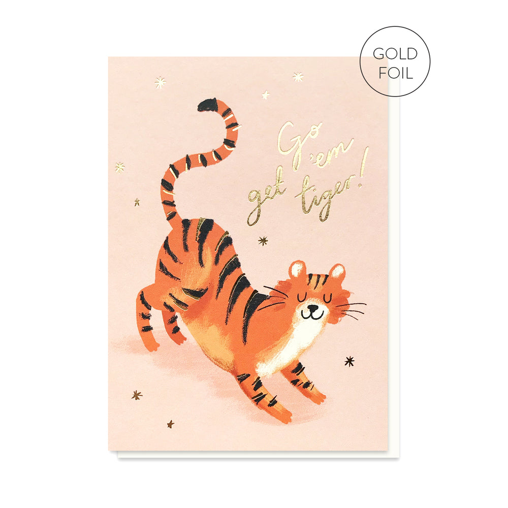Load image into Gallery viewer, Go Get 'Em Tiger Card