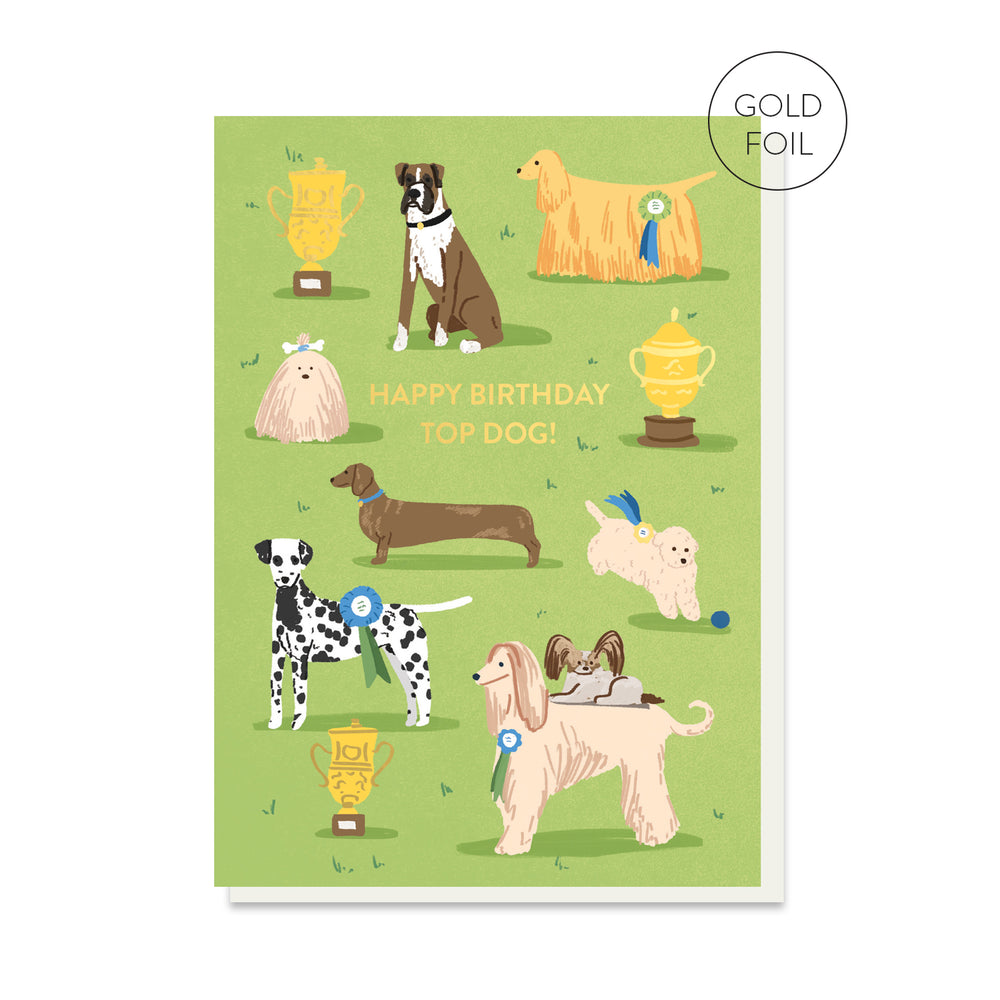 Top Dog Card