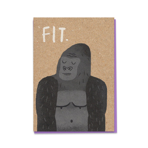 FIT Gorilla Card