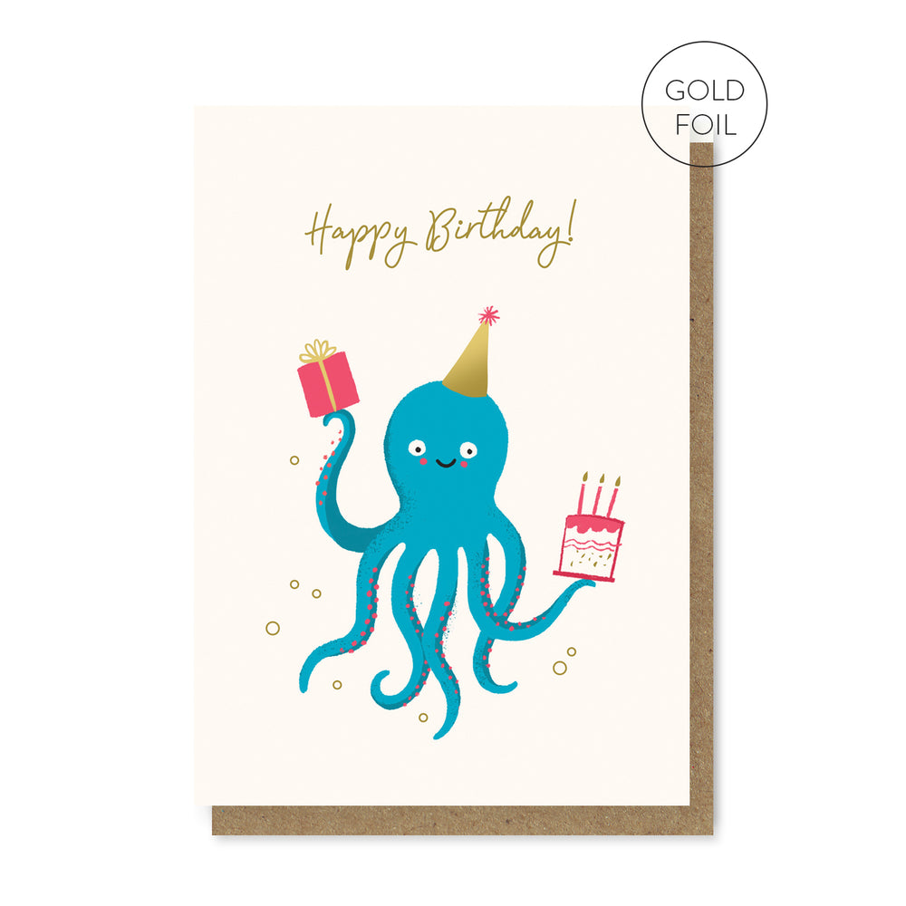 Octoparty Card