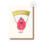 Monster Hugs Card