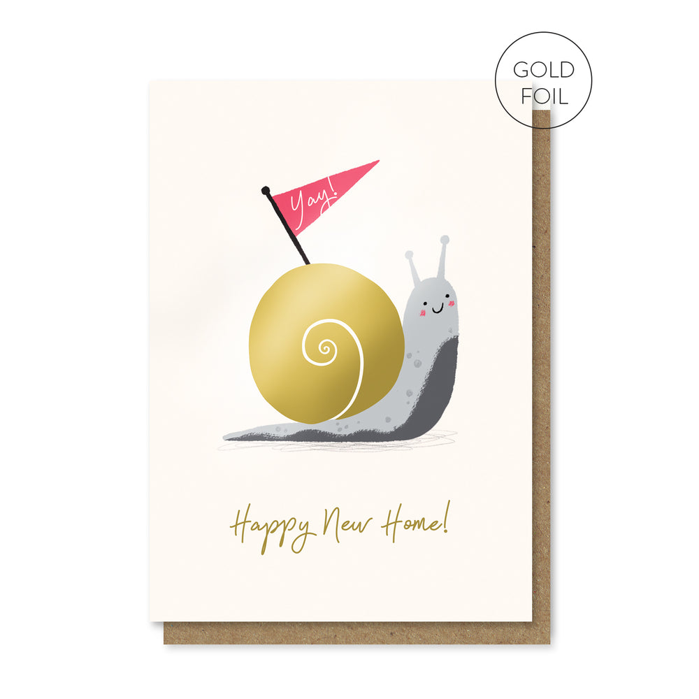Snail House Card