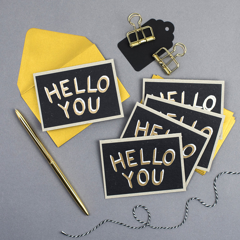'Hello You'  Mini notecards sets