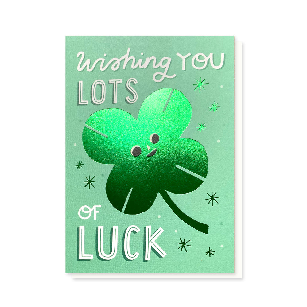 SAMPLE  Lots of Luck Card