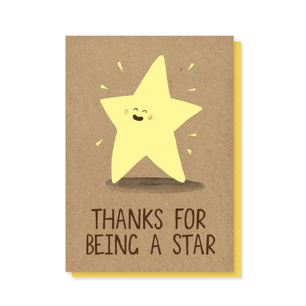 Thanks Star Card