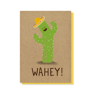 Load image into Gallery viewer, Wahey Cactus Card