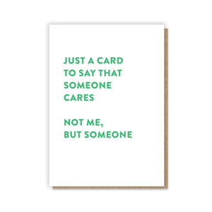 Someone Cares Card