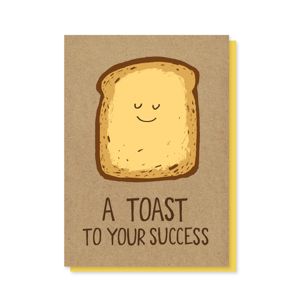 Toast To Your Success Card