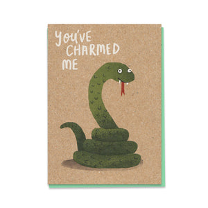 Load image into Gallery viewer, Charming Snake Card