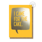 Yellow Cake Card