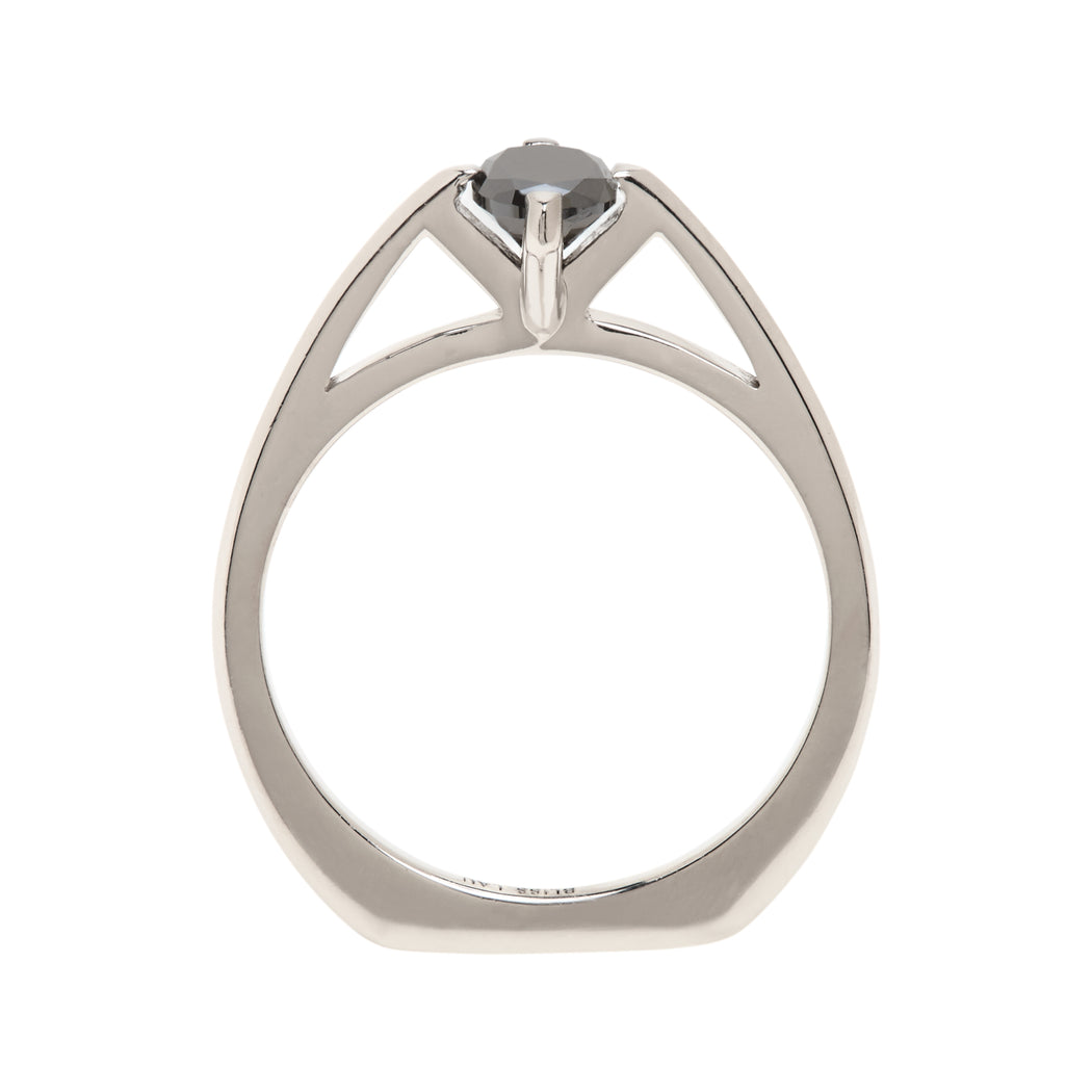 Minimalist Arc Ring