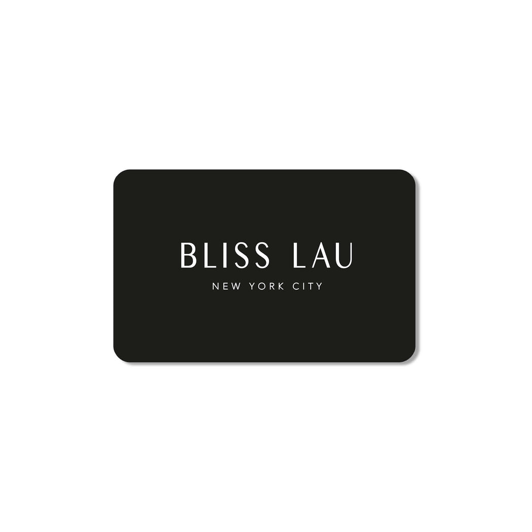 Bliss Lau Gift Card