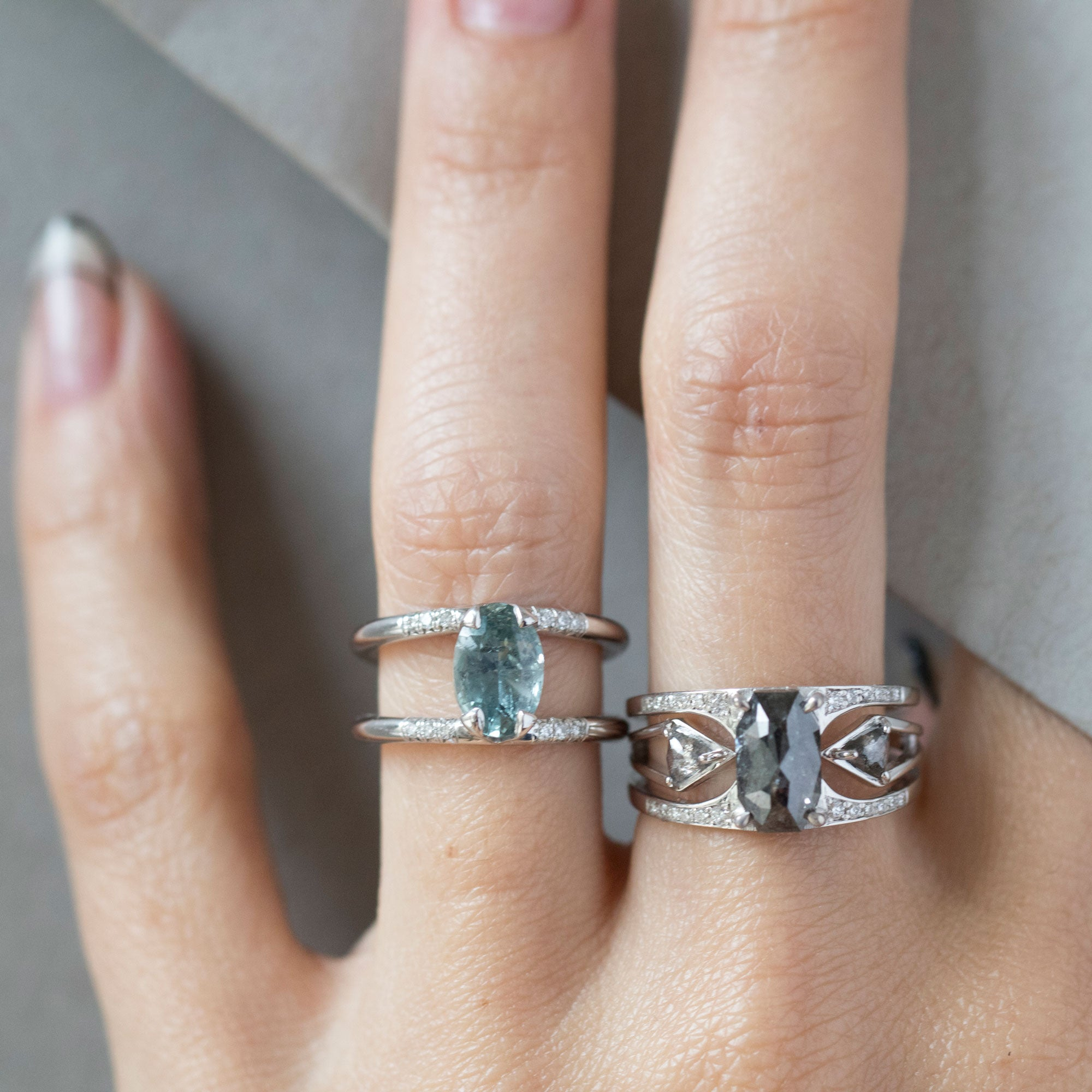 Mirage + Reflection Ring Set