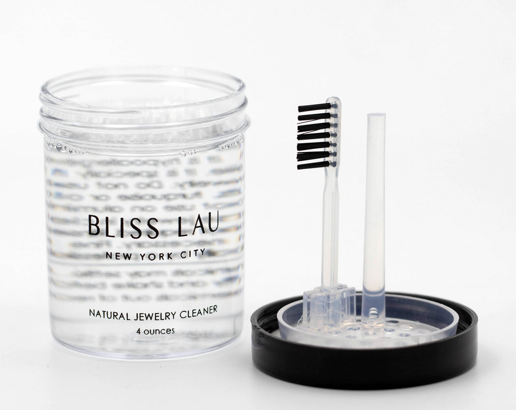 Bliss Lau Jewelry Care Set Natural Jewelry Cleaner Polishing Cloth