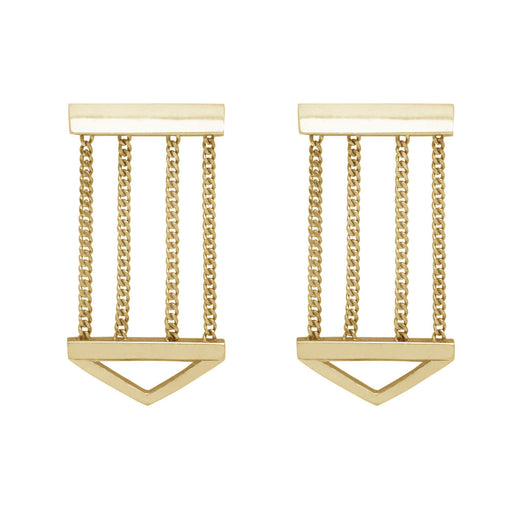 Bliss Lau Bestow Earrings Yellow Gold