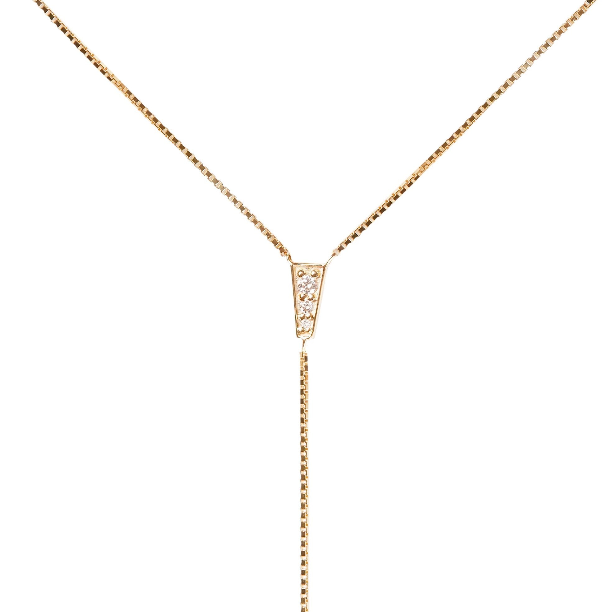Blink Bodychain Yellow Gold Vermeil + White Diamonds